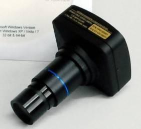 UCMOS10000KPA USB Microscope Camera w/ Eyepiece Adaptor