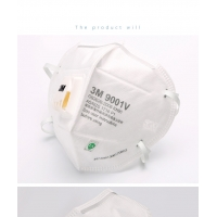 China 9001V Face Mask Cotton Anti Virus 3m Particulate Respirator factory