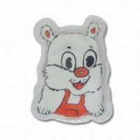 China Hot Water Bag in Cat Design, Reusable, Non-toxic and Non-caustic Features factory