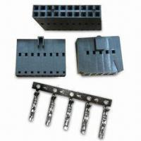 China Center Dual Row Mini Latch Housing with 0.100 x 0.100-inch in General and 4 to 80 Cicruits factory