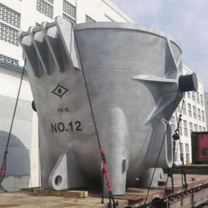 China OEM ODM Casting Machining Cast Iron Slag Pot Metallurgy Machine factory