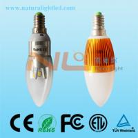 Buy cheap 3w high power led bulb 3 years warranty 360degree view from Wholesalers