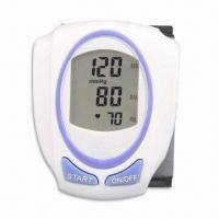 China Digital Blood Pressure, Comes in Wrist Type, with Fully Automatic Function and Extra Large Display factory