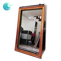 Buy cheap Touch screen mirror touch screen booth 55inch magic mirror selfie booth case from Wholesalers