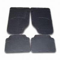 China Rubber Car Mat in Black Color, OEM Orders are Accepted factory