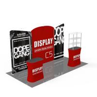 Buy cheap Light Weight Trade Show Poster Display Popular 10ft*10ft Convenient Operation from Wholesalers
