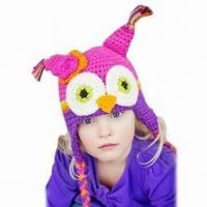 China Hand Crochet Children's Hat/Owl Hat factory