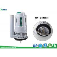Buy cheap 3 Inch Push Button One Piece Toilet Flush Valve Replacement Heavy Duty Design from Wholesalers