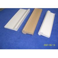 Buy cheap White Water Proof PVC Decorative Mouldings 7ft Backband Astragal For Door from Wholesalers