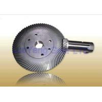Buy cheap Custom Helical Bevel Gears , Ground Tooth Spiral Bevel Gear Hobbing Process from Wholesalers
