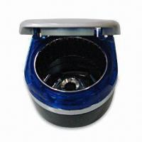 China Illuminant Ashtray with Removable Metal Inner Can and Double-sided Adhesive Tape factory