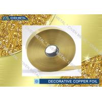 Buy cheap ED Copper Embossing Foil For Decorative , PCB Copper Foil for electric springs , switches from Wholesalers