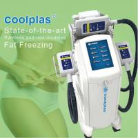 Buy cheap No Downtime Cryolipolysis Fat Freezing Machine Fat Loss Machines 3 Handles from wholesalers