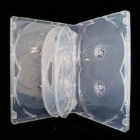 China 22mm Clear DVD Case for 7 to 8 Discs, with Smooth/Matte Sleeve and Tray on sale