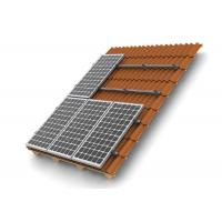 Buy cheap HDG Solar Panel Roof Mounting Systems Customized Color Stainless Steel 304 Home Building from Wholesalers