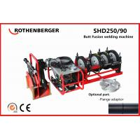 China Rothenberger SHD250 PE plastic pipe hydraulic butt fusion welding machine hot jointing machine on sale