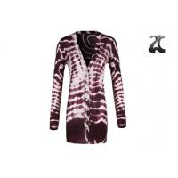 Buy cheap V Neck Women's Knit Cardigan Sweaters Long Sleeve With Shell Button On from Wholesalers