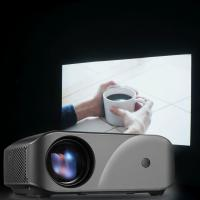 China top sale model inProxima F10 mini led portable projector native 1280x720P full hd class better than 3D Projector on sale