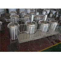 China PLC Control 800L Micro Brewery Equipment With Sanitary And Efficiency Wort Pump factory