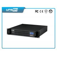 China 19 Inch Rack Mountable Ups With Surge Protection And Short Circuit Protection on sale
