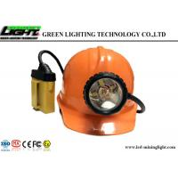Buy cheap Multi - Functional Underground Mining Cap Lamps , Mining Hard Hat Led Lights from Wholesalers
