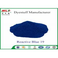 Buy cheap High Stability Fabric Reactive Dyes Reactive Brill Blue KN-R C I Blue 19 from Wholesalers