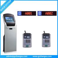 Quality Complete Bank Wireless Queuing Ticket Number Dispenser System,que management system wholesale