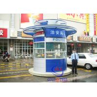 Buy cheap Color Steel Prefabricated sentry box shed for garden , Police Station , Residential Building from Wholesalers