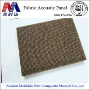 China Soundproof Fiberglass Acoustic Wall Panel on sale