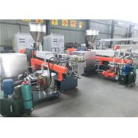 CE ISO9001 Pvc Pelletizing Machine , High Torque Granules Making Machine