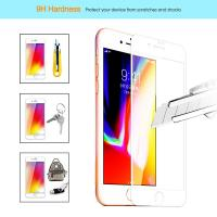 Quality Ultra Anti Fingerprint Edge To Edge Screen Protector Iphone 7 / 8  2.5D / 3D for sale