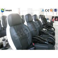 China Genuine PU Leather Movie Theater Seat Dynamic For 5D Cinema System factory