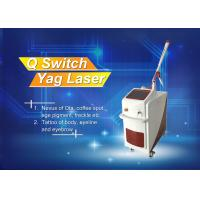 Stationary Q - Switched ND Yag Laser Tattoo Temoval Beauty Machine