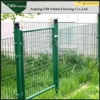 Buy cheap Green Galvanized Wire Mesh Face Gate , Welded Wire Mesh Fencing Panels from Wholesalers