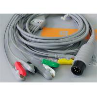 Buy cheap 5 Leads Ecg Snap Medical Cable , Medical Equipment / Medical Device Accessories from Wholesalers