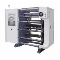 Buy cheap Carbon Steel Material Film Slitter Rewinder With Auto Defects Checker from Wholesalers