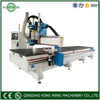 KC2060D linear ATC CNC Router Cutting Machine for Cabinet and Aluminum soft metal