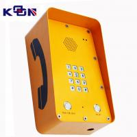 Buy cheap GSM SOS Emergency Phone With 12 Groups Numbers Memory For Highway Call Box from Wholesalers