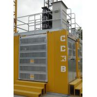 Buy cheap 3 Doors Rack And Pinion Hoist SC200/200BG For Man / Material Transportation from Wholesalers