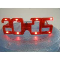 China party decoration plastic flashing light up LED glasses for night event factory