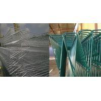 Quality Roll Top BRC Welded Wire Mesh Fence Panels Galvanized / Powder Coated for sale