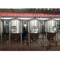 China Brushed Surface CCT Conical Fermentation Tank For Brewery Equipment factory