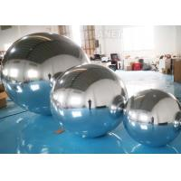 China Hanging Silver Inflatable Mirror Ball / Inflatable Mirror Balloon EN14960 factory