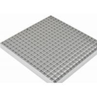 Buy cheap Stainless Steel Grating Walkway 40mm Bearing Bar Pitch Twisted / Round Bar from Wholesalers