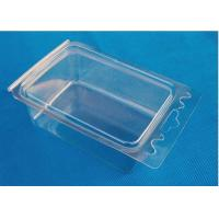 China Transparent Vacuum Thermoforming Products Plastic PP Fruit Tray OEM Service on sale