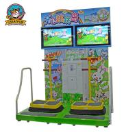 Buy cheap Jumping Island Type Coin Operated Amusement Machines Colorful Fluorescent Light from wholesalers