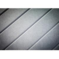 China B Level Recycled Decorative Acoustic Wall Tiles , V - Grooved  Sound Dampening Tiles on sale