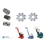 Buy cheap 8 Points Milling Scarifiers Cutters , Full Face Tungsten Carbide Tipped On Concrete Scarifiers from Wholesalers