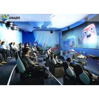 China Electric Dynamic 7D Cinema System / 3 People Capacity Movie Theater Chairs factory
