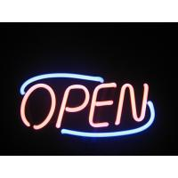 China High Brightness Pink / White Led Neon Light Open Sign With CE / UL on sale